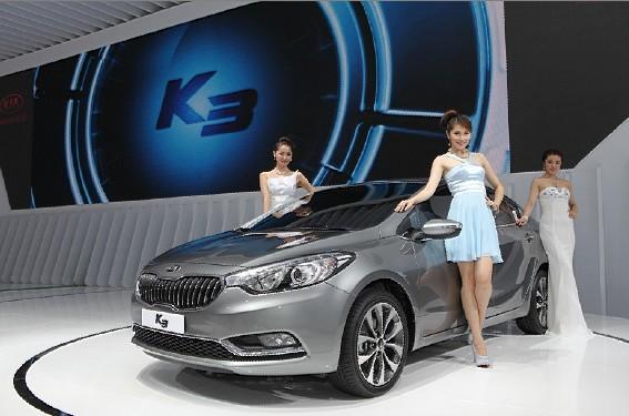 东风悦达起亚:成都车展k3首次亮相中级车市场再起