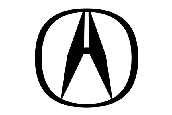 日本车标 讴歌汽车标志高清图片